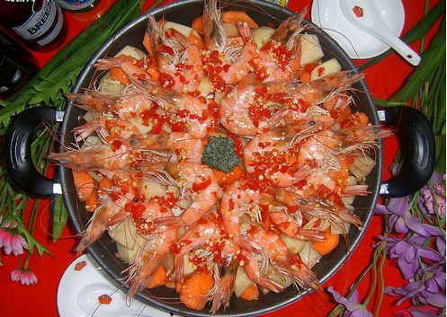 虾兵蟹将海鲜焖锅
