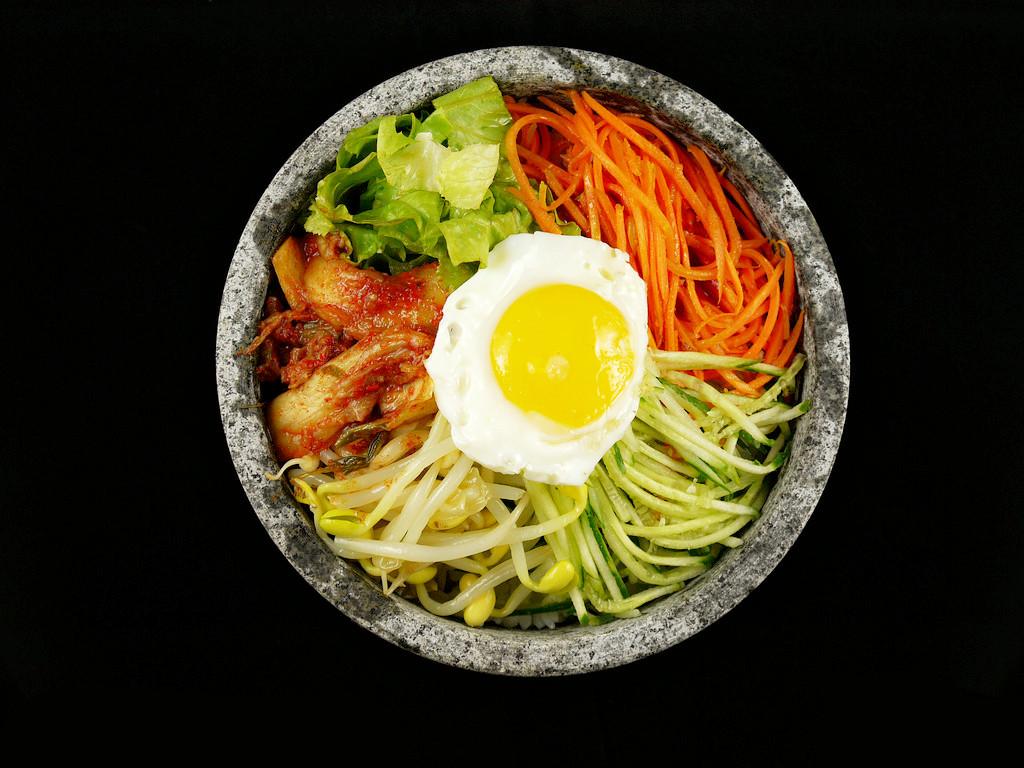 食趣石代韩式石锅捞饭