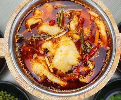 谁渔争鲜酸菜鱼米饭