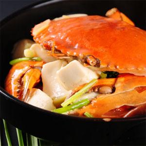 胖子缘肉蟹煲